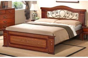 Кровать двуспальная Греция М14К - Мебельная фабрика «Селена»