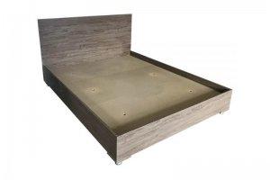 Кровать двуспальная из ЛДСП - Мебельная фабрика «КИНГ»