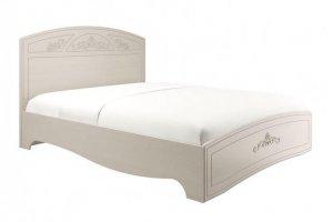 Кровать двуспальная Каролина с настилом - Мебельная фабрика «Олмеко»