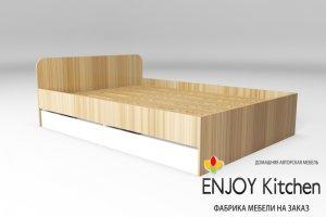 Кровать двуспальная KR6 - Мебельная фабрика «ENJOY Kitchen»