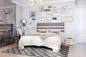Кровать двуспальная Льеж - Мебельная фабрика «MGS MEBEL»
