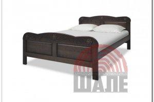 Кровать двуспальная Мирабель  - Мебельная фабрика «ВМК-Шале»