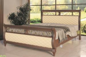Кровать двуспальная МК 60 - Мебельная фабрика «Корвет»