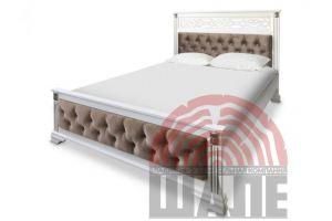 Кровать двуспальная Шарлотта - Мебельная фабрика «ВМК-Шале»