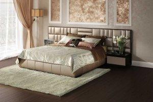 Кровать двуспальная взрослая Ривьера - Мебельная фабрика «Möbel&zeit»