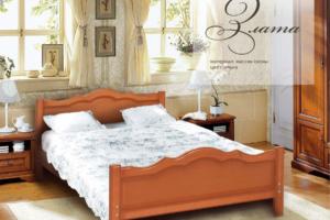 Кровать двуспальная Злата - Мебельная фабрика «НИКА»