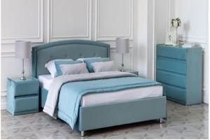 Кровать Дженниер с ортопедическим основанием - Мебельная фабрика «Медитэй»