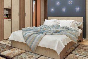 Кровать ЛДСП Джулия 160 - Мебельная фабрика «Пирамида»