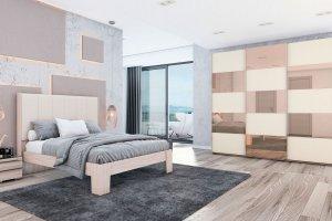 Кровать эконом Вианден - Мебельная фабрика «MGS MEBEL»