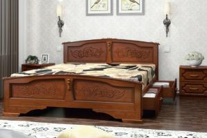 Кровать Елена с ящиками - Мебельная фабрика «Bravo мебель»