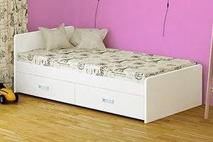 Кровать Элиза модель 1 - Мебельная фабрика «Лагуна»