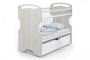 Кровать Эльза Wood белая - Мебельная фабрика «Атон-мебель»