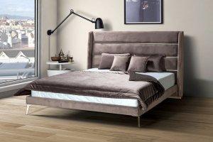 Кровать Ester с мягким изголовьем - Мебельная фабрика «Аргос»