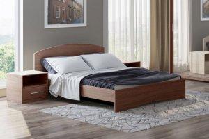 Кровать Этюд 1200х2000 - Мебельная фабрика «Евромебель»