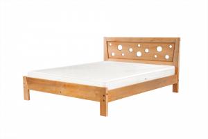 Кровать Фантазия из массива бука - Мебельная фабрика «Фабрика сна»