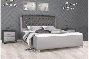 Кровать стильная Филадельфия - Мебельная фабрика «ИЛ МЕБЕЛЬ»