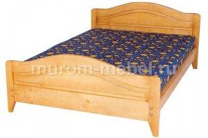 Кровать Филенка новинка №1 - Мебельная фабрика «Муром-мебель»