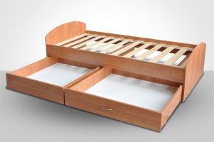 Кровать Фортуна-2 - Мебельная фабрика «СМК (Славянская мебельная компания)»