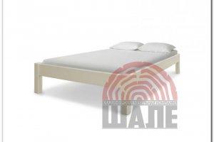 Кровать Генрих  слоновая кость - Мебельная фабрика «ВМК-Шале»