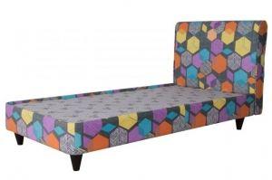 Кровать односпальная Геометрия - Мебельная фабрика «Мебель Холдинг»