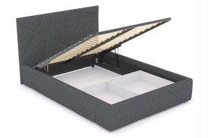 Кровать Геометрия с подъёмным механизмом - Мебельная фабрика «МАРИБЕЛЬ»