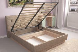 Кровать Ханна м1 - Мебельная фабрика «Комфорт-S»