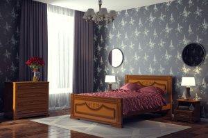 Кровать Империя - Мебельная фабрика «DM- darinamebel»