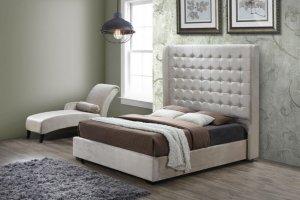 Кровать INFI 2894 с высоким изголовьем - Импортёр мебели «Евростиль (ESF)»