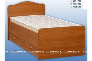 Кровать из ЛДСП с ящиками - Мебельная фабрика «Александрия»