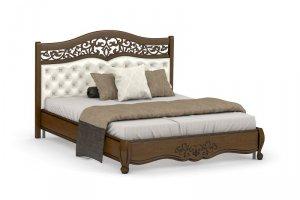 Кровать из массива 1 - Мебельная фабрика «Вернисаж»