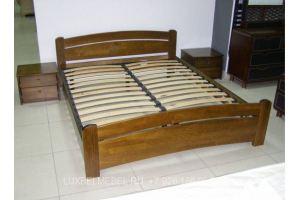 Кровать из массива 1428 - Мебельная фабрика «ЛюксБелМебель»