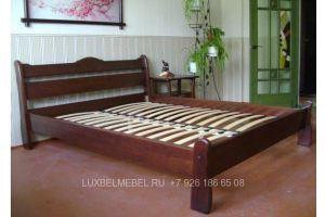 Кровать из массива 1429 - Мебельная фабрика «ЛюксБелМебель»