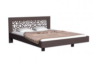 Кровать из массива Бука Веро - Мебельная фабрика «Дримлайн»