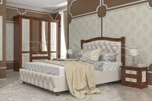 Кровать из массива Sonata 2 MV - Мебельная фабрика «Rila»