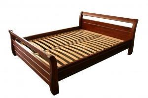 Кровать из массива Лагуна - Мебельная фабрика «Мебель для Вашей Семьи (МВС)»