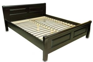 Кровать из массива Лаура - Мебельная фабрика «Мебель для Вашей Семьи (МВС)»