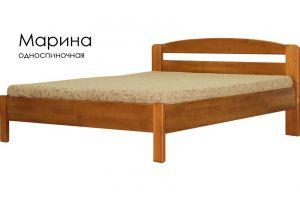 Кровать из массива Марина - Мебельная фабрика «Массив»