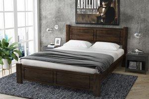 Кровать из массива северной сосны Janice - Мебельная фабрика «Alitte»