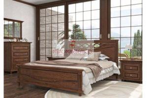 Кровать из сосны Санторини - Мебельная фабрика «МуромМебель (ИП Баранихина Г.И.)»