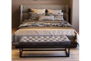Кровать изголовье с ушами Алекс - Мебельная фабрика «Эволи»