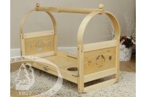 Кровать-качалка детская С877 - Мебельная фабрика «Красная звезда»