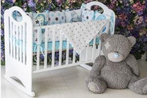 Кровать-качалка Сказка Белая КСК-3 - Мебельная фабрика «Феалта»
