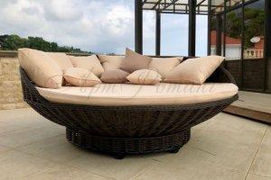 Кровать-качели подвесные - Мебельная фабрика «АртРотанг»