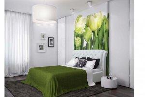 Кровать с каретной стяжкой Калифорния - Мебельная фабрика «ИЛ МЕБЕЛЬ»