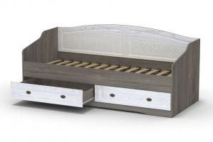 Кровать КАЛИПСО с ящиками - Мебельная фабрика «Гайвамебель»