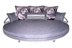 Кровать круглая Камея - Мебельная фабрика «Клевер»