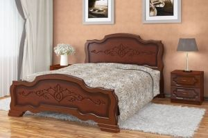 Кровать Карина 17 - Мебельная фабрика «Bravo Мебель»