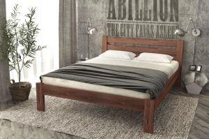Кровать Kate из массива северной сосны - Мебельная фабрика «Alitte»
