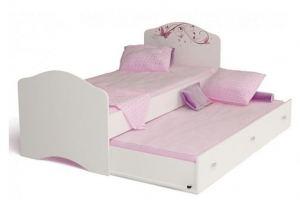 Кровать классика Фея со стразами - Мебельная фабрика «ABC King»