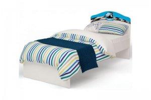 Кровать классика La-Man для мальчика - Мебельная фабрика «ABC King»
